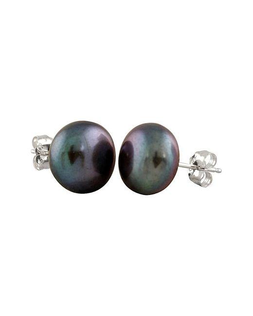 Splendid Multicolor 14k 10-11mm Pearl Earrings