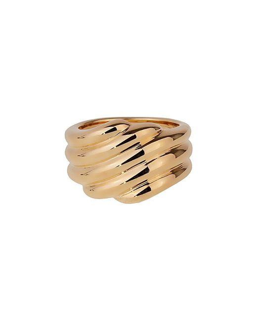 Van Cleef & Arpels Vintage Metallic Van Cleef & Arpels 18k Ring