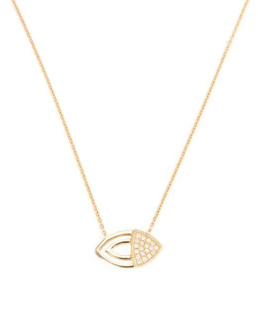 Dana Rebecca - Metallic Courtney Lauren 14k Yellow Gold & 0.08 Total Ct. Diamond Pendant Necklace - Lyst