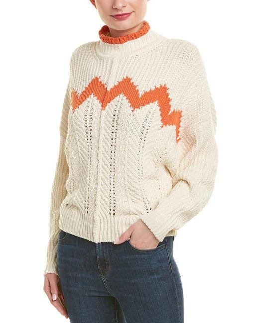 Isabel Marant Multicolor Knit Wool-blend Pullover