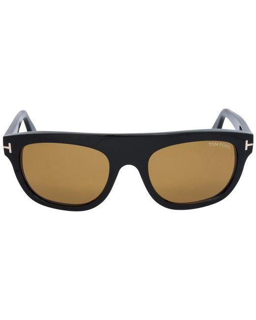 7c6cce3a3d ... Tom Ford - Blue Men s Ft0594 55mm Sunglasses for Men - Lyst