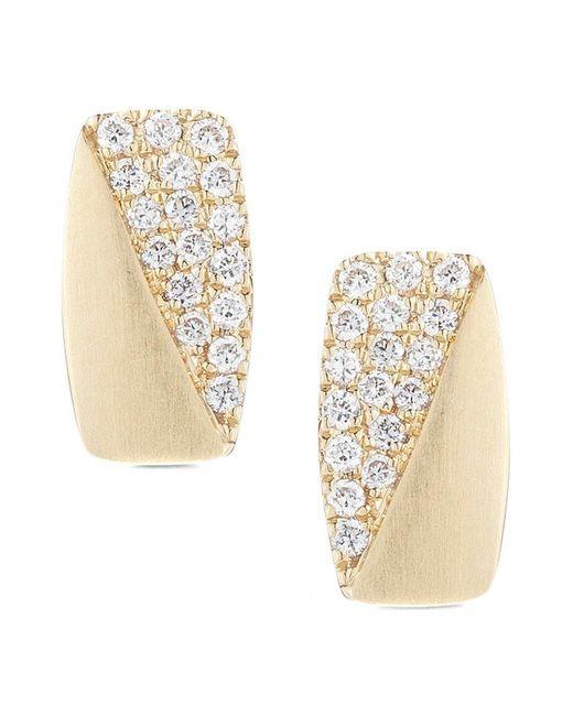 Dana Rebecca - Metallic Designs Jeannie Anne 14k 0.12 Ct. Tw. Diamond Drop Earrings - Lyst