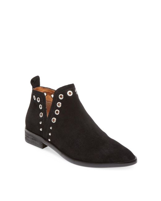 Corso Como - Black Diana Leather Bootie - Lyst