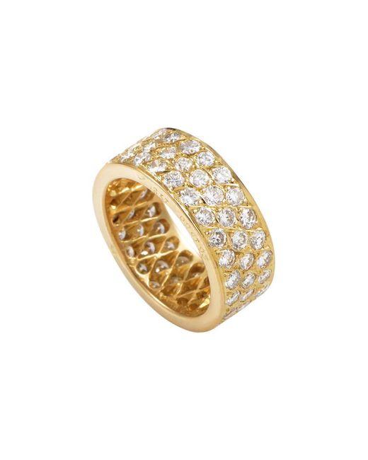 Van Cleef & Arpels Vintage Metallic Van Cleef & Arpels 18k 2.93 Ct. Tw. Diamond Ring