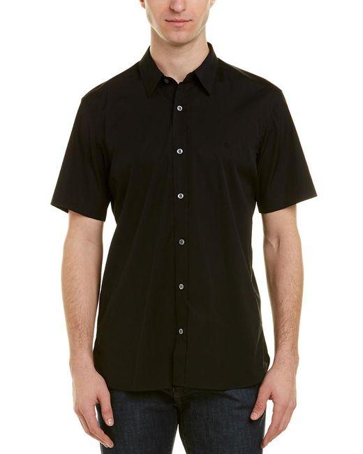 Burberry Black Woven Shirt for men