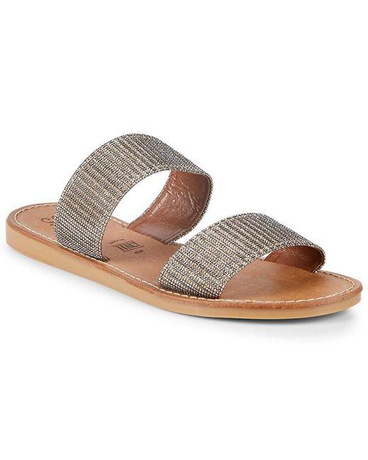 Seychelles Metallic Rotation Slide Sandal