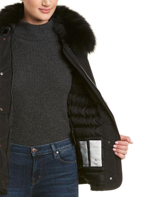 Peuterey Black Yiska Down Jacket
