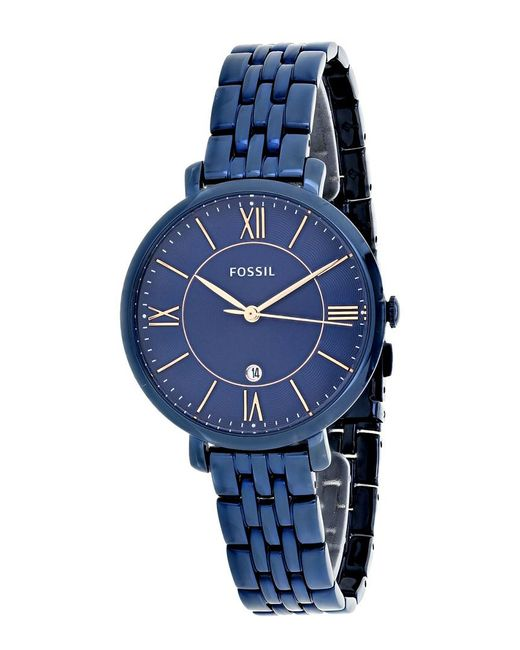 Fossil Blue Women's Jacqueline Watch