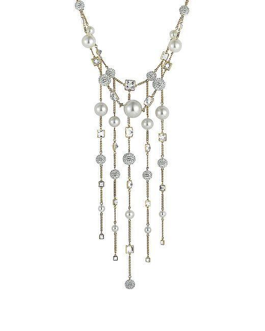 Swarovski Metallic Crystal Plated Necklace