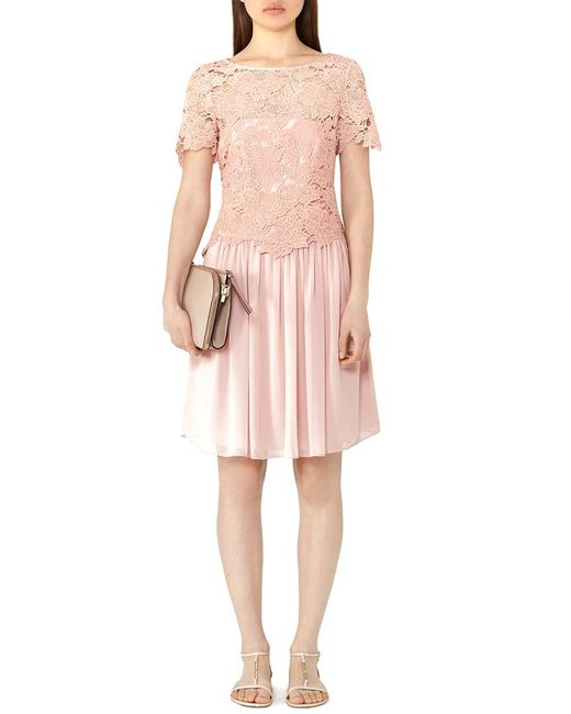 Reiss Pink Milly Dress