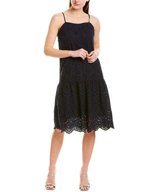 Nation Ltd Blue Rayna Mini Dress