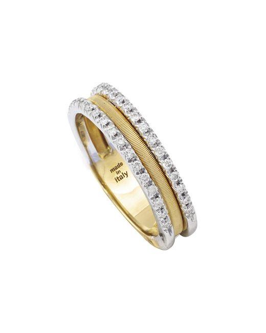 Marco Bicego Metallic Goa 18k 0.26 Ct. Tw. Diamond Ring