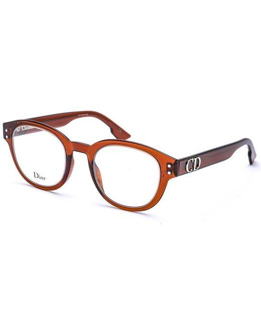 Dior Brown Women's Cd 2 46mm Optical Frames