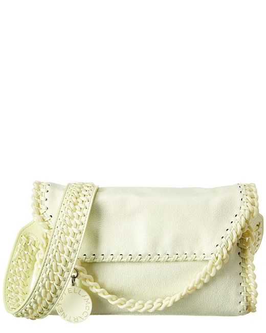 8c735906466660 Stella McCartney - Green Mini Falabella Candy Shaggy Deer Shoulder Bag -  Lyst ...