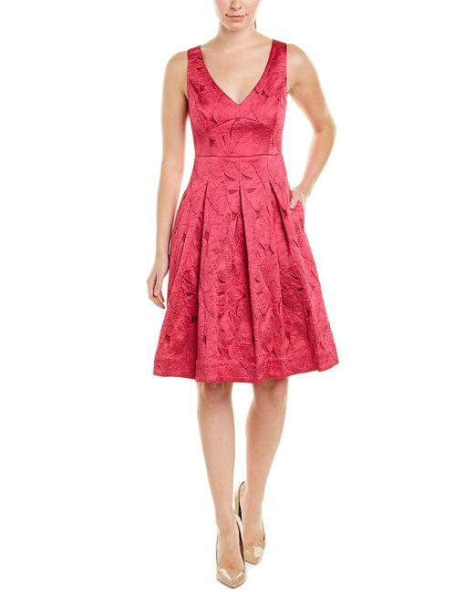 Elie Tahari Pink A-line Dress