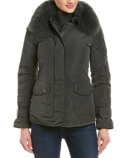 Peuterey Black Yiska Down Jacket