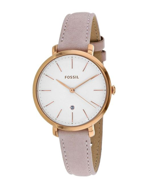 Fossil Metallic Women's Jacqueline Watch
