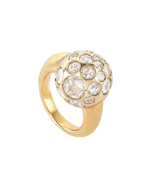 Pomellato Metallic 18k Crystal Ring