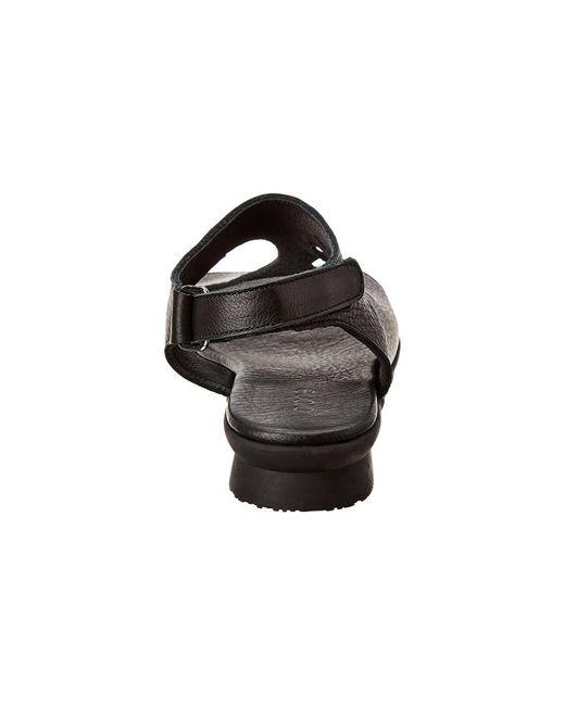 Arche Women's Purple Aurora Leather Sandal