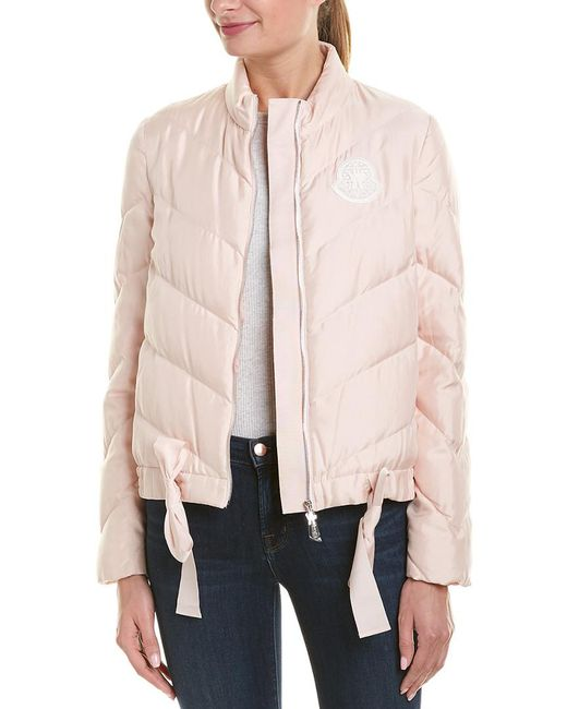 Moncler Pink Silk Jacket