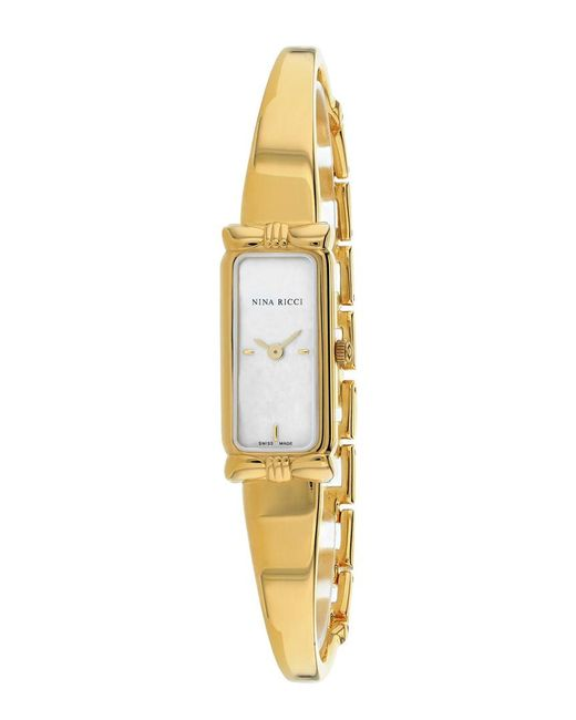 Nina Ricci Metallic Women's Classic Watch