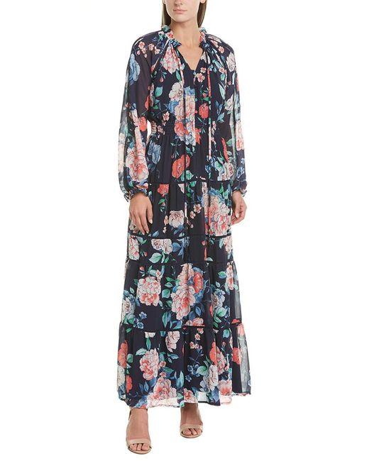 Yumi Kim Blue Maxi Dress