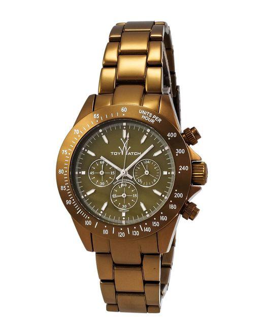 Toy Watch Unisex Metallic Olive Watch