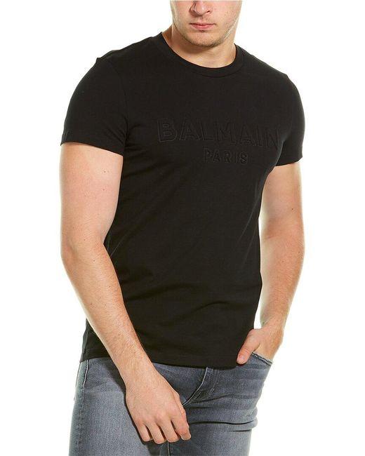 Balmain Black Logo T-shirt for men