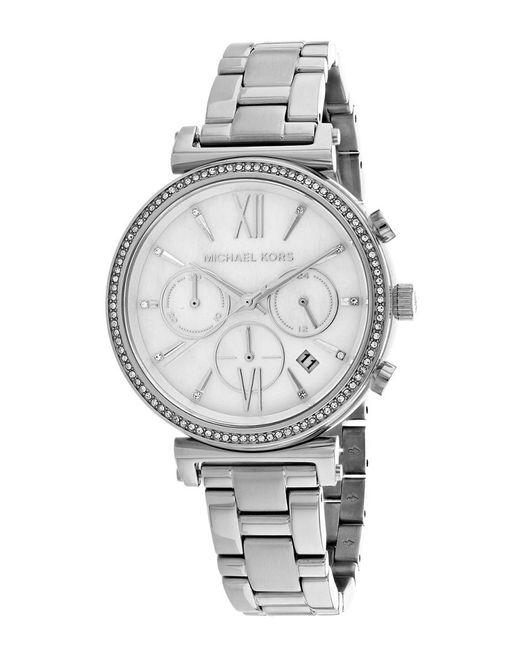 Michael Kors Metallic Women's Sofie Watch