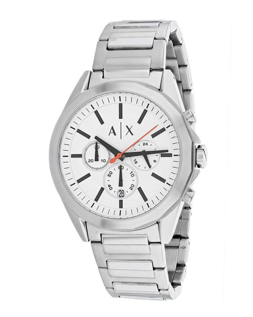 Armani Exchange Metallic Classic Watch for men