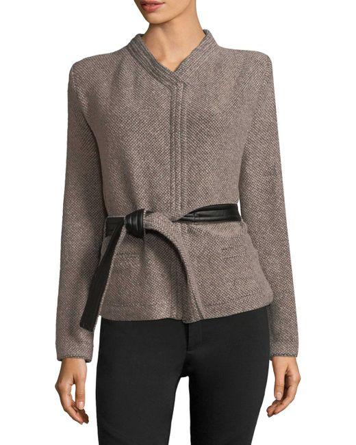 IRO - Brown Awa Woven Jacket - Lyst