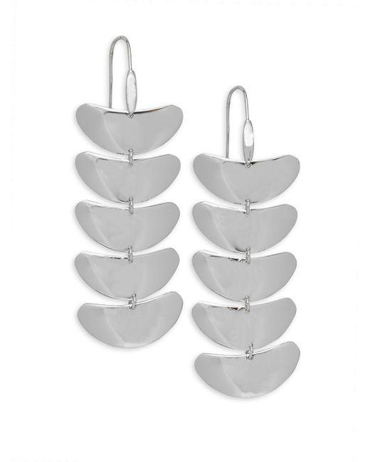 Robert Lee Morris - Metallic Flat Drop Earrings - Lyst