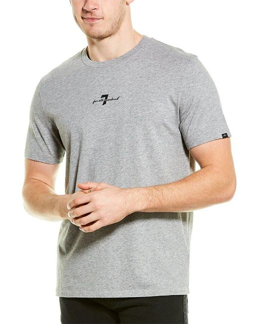 7 For All Mankind Gray 7 For All Mankind Original T-shirt for men