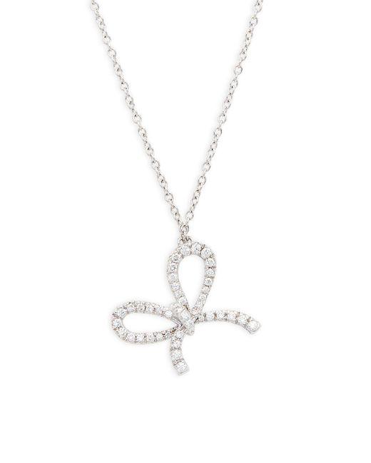 Kwiat - Metallic Elements Diamond & 18k White Gold Pendant Necklace - Lyst