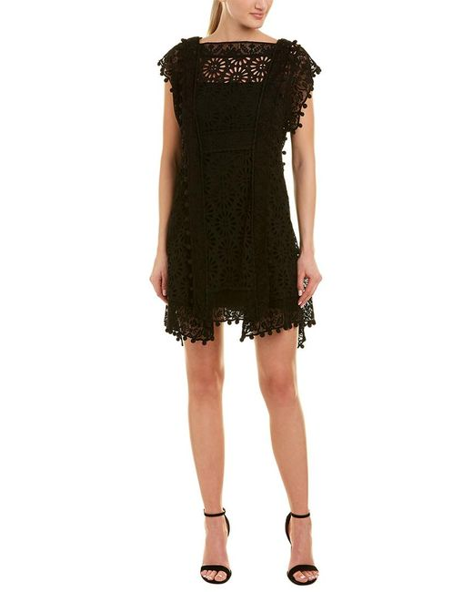 Isabel Marant Black Lace A-line Dress