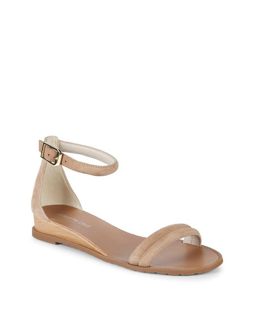 Kenneth Cole - Multicolor Jocelyn Suede Wedge Sandals - Lyst
