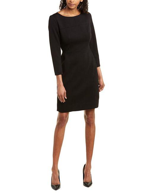 Anne Klein Black Sheath Dress