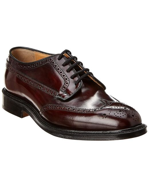 Church's Red Classic Leather Brogue for men