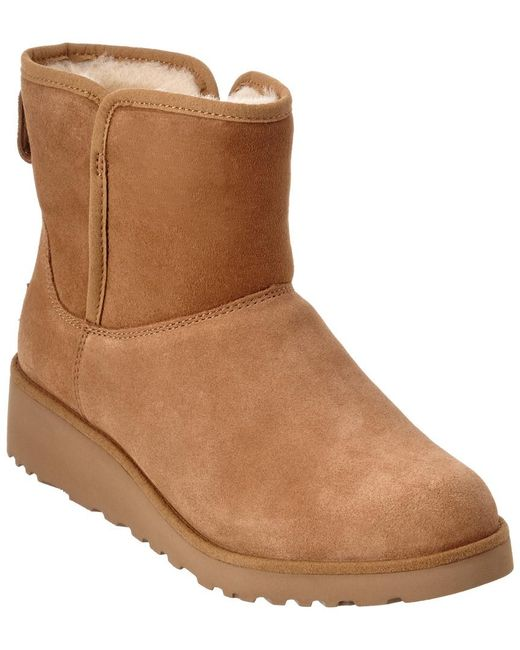 Ugg Brown Women's Kristin Water-resistant Twinface Sheepskin Boot