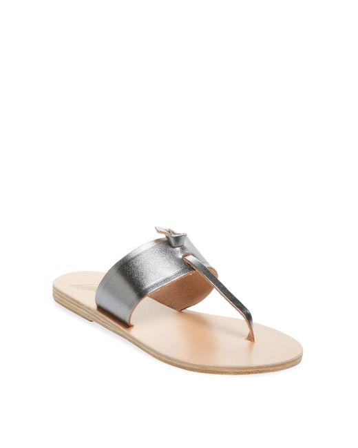 Ancient Greek Sandals - Multicolor Melina Leather Thong Sandal - Lyst