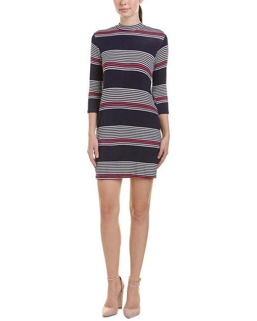 Peach Love CA Multicolor Striped Shift Dress
