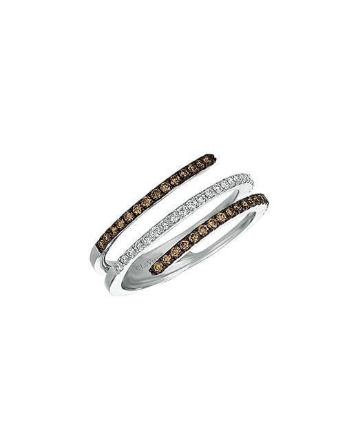 Le Vian Multicolor 14k 0.41 Ct. Tw. Diamond Ring