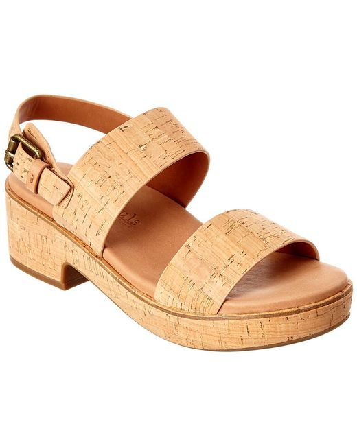 Gentle Souls Natural Talia Cork Sandal