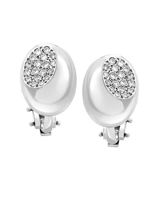 Faraone Mennella - Metallic 18k & Platinum 0.43 Ct. Tw. Diamond Drop Earrings - Lyst