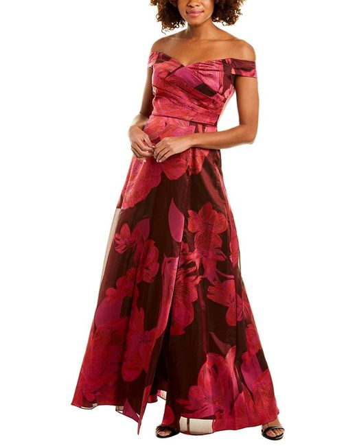 Adrianna Papell Red Gown