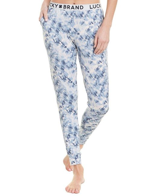 Lucky Brand Blue Hacci Jogger Pant