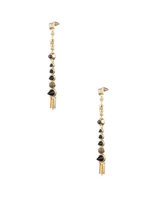 Eddie Borgo - Metallic Assemblage Drop Earrings - Lyst