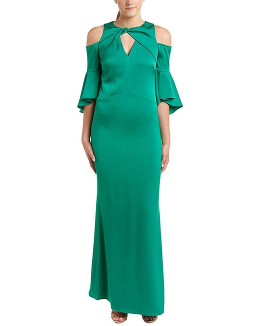 Shoshanna Green Gown