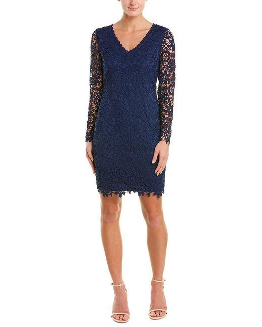 Bebe Blue Sheath Dress