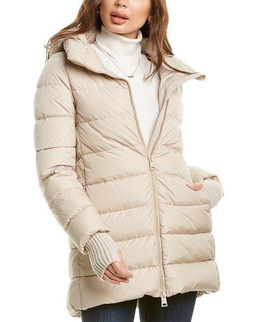 Herno Brown Medium Down Wool-blend Jacket